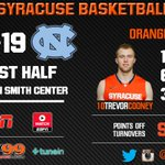 Cooney feeling it for the Orange in the 1st half! #CuseMode http://t.co/FeQM0tmBx3