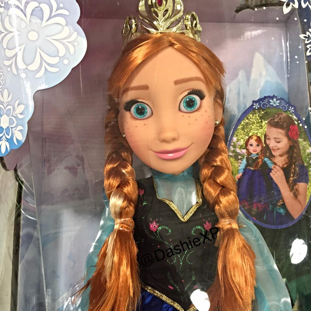 DashieXP (@DashieXP): Why would you buy your daughter this doll? This b!tch look like she would cut all your hair off while you sleep lol