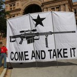 Open carry activists rallied at the Capitol today with banners and bananas http://t.co/678JUccvae #txlege http://t.co/KXmDQbENM5