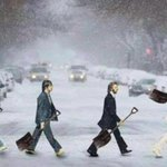 Snowy Road.. This one is going a bit viral, so with HT to the originator... http://t.co/hSeN5yX6fw