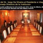 El periodista Jorge Da Silveira se retractó por sus dichos sobre Jonathan Rodríguez http://t.co/6HWCGye0H3 http://t.co/uj9bcIRlmT