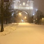 Beautiful view of Memorial Arch in Hartford; #ctweather; http://t.co/XB6mMCk6F3 http://t.co/aePU474cXu