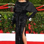 What did you think of Dame Joan Collins look at the #SAGawards?! The #FashionPolice LOVED it! Winner. http://t.co/eB8wRD6J1f