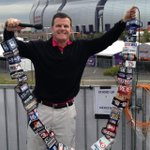 Craziest media job at Super Bowl might be @john_kucko. Files reports for every station w/a mic flag http://t.co/p05Wve4HzH