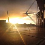 #GoodMorningCardiff Image courtesy of @TilliecePJ http://t.co/ErB3KN9hP9