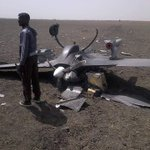 A military drone crashed in Mafa, Borno state. It is a tragic waste of Nigerias resources. Drones are not cheap! http://t.co/qEmSpCXlzW