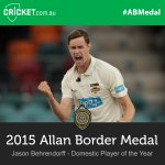 WA quick @JDorff5 has been named Domestic Player of the Year! Watch LIVE: http://t.co/a86RM9ylC1 #ABMedal http://t.co/27qKPrt7Mj