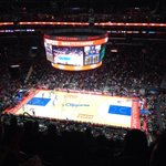 Clippers vs. Nuggets. Staples Center. #mydayinla http://t.co/wt4bR1I2YV