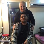 Attended AR Rahman's concert at Vadodara last night. SPECTACULAR. Spent sometime with him backstage..:) #PureGenius http://t.co/DXALaakzND
