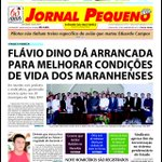 Diálogo do governador @FlavioDino com prefeitos e líderes de sindicatos rurais é manchete do @jornalpequeno #MaisIDH http://t.co/IGQhZoKKxK