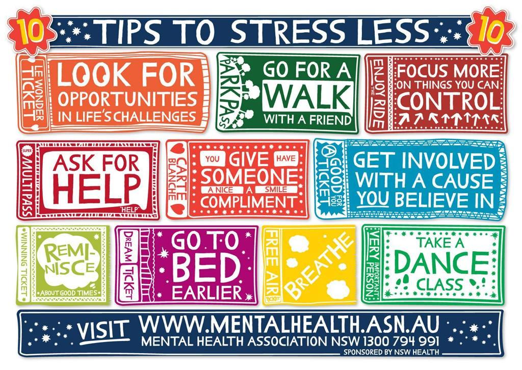 10 tips to #stressless #EdFest15 strengthen your #mentalhealth by imp protective factors https://t.co/jRslchJsd5 http://t.co/gsICa0kV9g