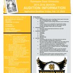 Feat. Twirler Announcement and Audition Info! Share with those interested! @kennesawstate @KSUOwlNation @musicKSU http://t.co/Z7vteLP8nO
