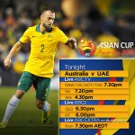 The countdown is on to see the @Socceroos in the #AC2015 semi final LIVE on ABC. #GoSocceroos #AUSvUAE http://t.co/9ZJd07mdvT
