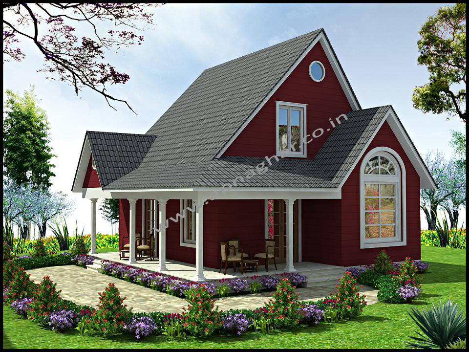 Residential house plans 80 sq mt area 8m x 10m floor for Colorado style house plans