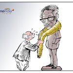 RT @shamsundar_sk: Need 130 RTs. One RT = I Crore @Oneindia Cartoon #RIP #rklaxman
