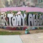 Real graffiti, #electronicgraffiti, we all feel the same way #auspol via @johnnybridge2 http://t.co/n9LnDzuvWH