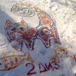 В выходные студенты и преподаватели Ульяновского училища культуры сделали красивые картинки во Владимирском саду http://t.co/G0PcOC33jC