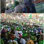Kwara stood 4 PGEJ! Bia @ProfOsinbajo, this is crowd. Not d crusade crowd u munched as APC Kano rally #WeTriumphStill http://t.co/2O2HvAU3lO