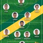 Start list: @Socceroos #AC2015 #AUSvUAE http://t.co/KroW3ratgq