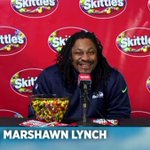 Marshawn Lynch is finally talking ... thanks to Skittles. http://t.co/OOKa90Fqvo http://t.co/R1OGrodcvS