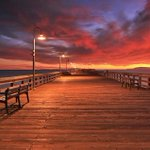 Last Thursdays sunset was unreal. Ventura Pier Image by Image by Local Photographer Doug Mangum http://t.co/mdfbWhqMDi