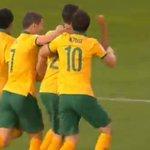 3 GOALLL for @Socceroos! @Tsainsbury92 rises and heads home an opener. #AUSvUAE #AC2015 http://t.co/6Kq64kSGia