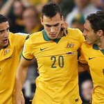 Come on Socceroos!! Two goals in 15 minutes!! #AUSvUAE #GoSocceroos http://t.co/86POZlWHc0