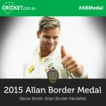 What a year! @stevesmith49 has tonight been awarded his first Allan Border Medal: http://t.co/a86RM9ylC1 #ABMedal http://t.co/2aPqvWqr4r
