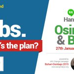 Tweet your questions with #iHaveDecided to ask @ProfOsinbajo about APCs plan for JOBS! https://t.co/QnTOUEiYvn http://t.co/mkIiJiVjBm