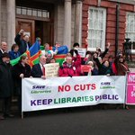 Protest photo from @adambro https://t.co/b5UHhBk5it #LincsLibraryScrutiny