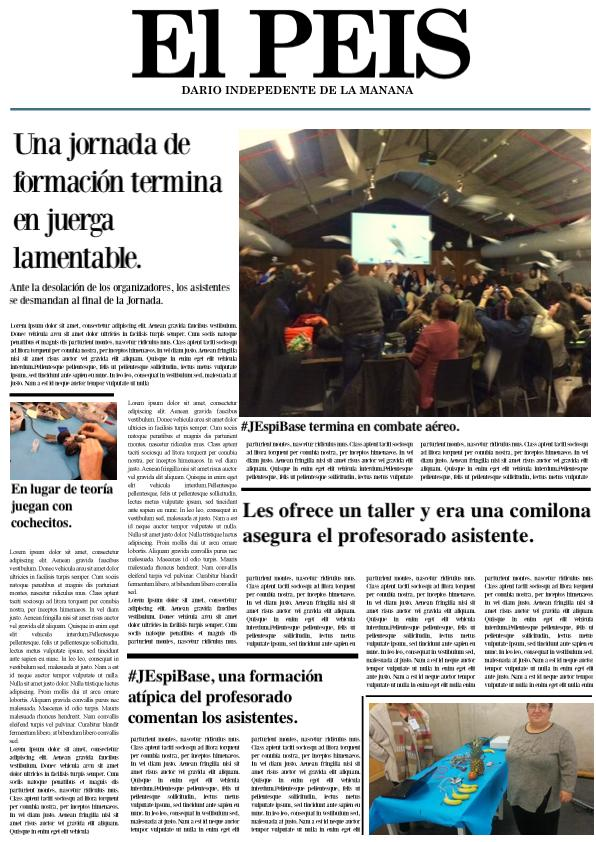 RT @pepegiraldez: #JEspiBase con humor en los medios. http://t.co/pLlVkJBqxL