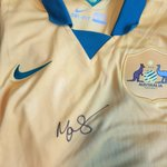 RT for your chance to win this sweet #Socceroos Jersey signed by Mark Schwarzer, drawn at FT. #AUSvUAE #AC2015 http://t.co/Btzx38Otph