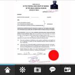 Barrister Friday Ojealaro Sued Pa Buhari, APC and INEC.... #WeTriumphStill #IChooseGEJ_ #GEJMyVal http://t.co/ZgpQQCl6IQ