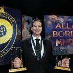 Clean sweep for Super Smith! AB Medal, ODI and Test player of the year! #ABMedal http://t.co/9HWkAE5CEL http://t.co/CjzbkDILYq