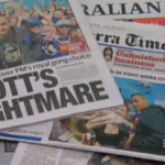 Liberals hit back over PM @TonyAbbottMHR's knighthood award. @lcalcutt http://t.co/6jZiMIyOmm #9News http://t.co/vKCxAfTJKE