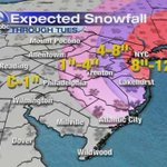 UPDATED MAPS from AccuWeather tracking the noreaster #6abc - http://t.co/y4uV3JYfFh | http://t.co/ouRFCyQ3wO