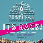 So @Laurenlaverne has revealed that the 2015 #6MusicFestival will be on Tyneside from Feb 20-22. Spread the word. http://t.co/rQFvRbctZ1