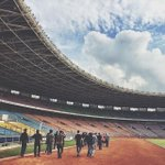 Team site visit for #1DINDO at Gelora Bung Karno. Its getting closer!!! Whos excited? http://t.co/vtvBVU4Z61