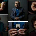 Auschwitz survivors with wartime photos of themselves on the 70th anniversary of liberation http://t.co/cRO1KpkQPS http://t.co/ywTNPE4tAr