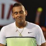 Dream over for Nick Kyrgios as 6th seed Andy Murray advances to his fifth #AusOpen semi-final with a 6-3 7-6 6-3 win http://t.co/f6rYCrIoC5