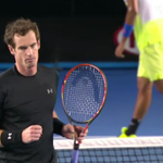 JUST IN: @NickKyrgios has gone down in three sets against sixth seed @andy_murray   6-3, 7-6, 6-3. #AusOpen #9News http://t.co/0Dp9PpnXq7