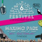 Local boys @maximopark are playing the #6MusicFestival & chatting to @laurenlaverne now >> http://t.co/Dd2jiJC027 http://t.co/S7YS415ebw