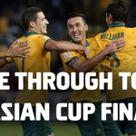 Herzlichen Glückwunsch, // Congrats, Mitch Langerak! RT @Socceroos: COME ON, AUSTRALIA!!! #AC2015 #AUSvUAE http://t.co/xGoca8sZwe