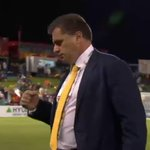Ange Postecoglou with a fist pump as the @Socceroos win through to the #ACFinal against @theKFA. #AC2015 http://t.co/tMYMGgHl2p