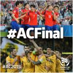 The 2015 #ACFinal: @theKFA vs @Socceroos (31st Jan) #AC2015 http://t.co/u2XqCOocai