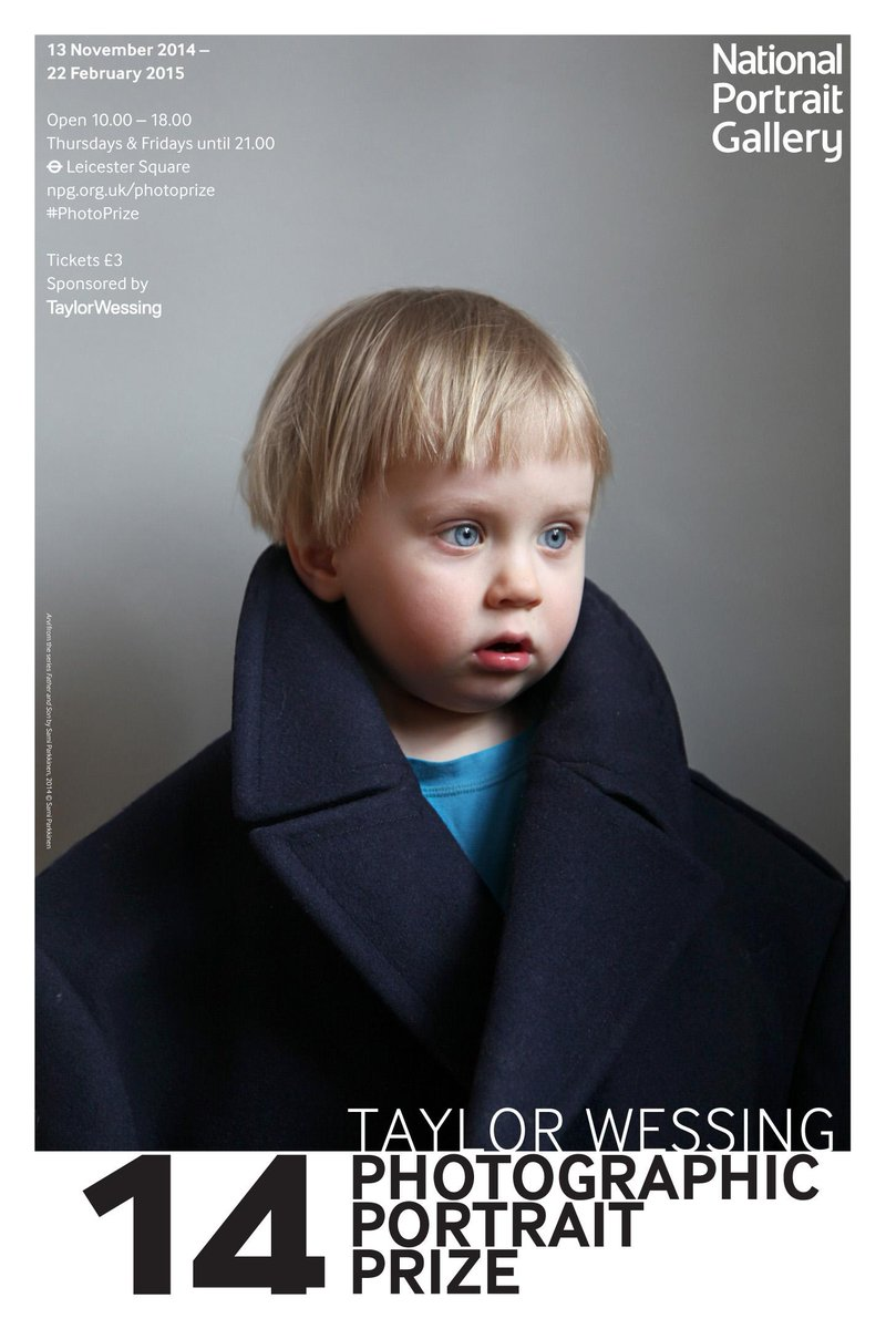 Win tickets to the Taylor Wessing #PhotoPrize @NPGLondon – RT before 31/1 to enter. Details: http://t.co/uoYzllG7Ls http://t.co/M1k3F1RaCb