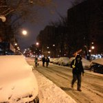 Headed to work with their shovels. Easier to walk down plowed street than sidewalks. http://t.co/gXjrR8GmxL (@tonyajpowers)