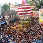 More pictures from Kodial Teru of the Shree Venkatramana Temple at Carstreet, #Mangalore http://t.co/K9Z5xNxz4s