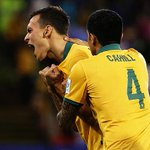 REPORT: Socceroos one game away from conquering Asia after beating UAE 2-0 in semi-final - http://t.co/3TJOAvEgxX http://t.co/ntwdcZMHG3