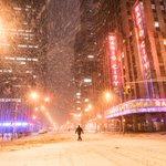 New York City tonight in Winter Storm Juno. Many PICS here: http://t.co/D0oMq7gJFL ❄ - #blizzardof2015 #juno2015 http://t.co/RPYP0jhko6